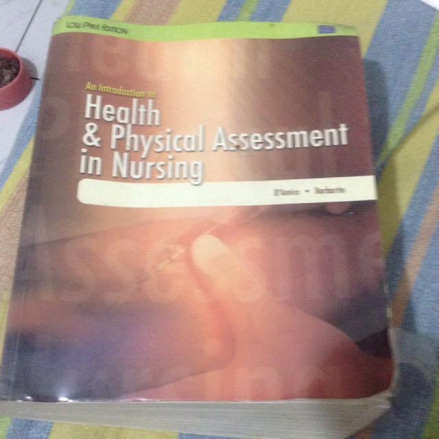 Health an Physical Assessment in Nursing