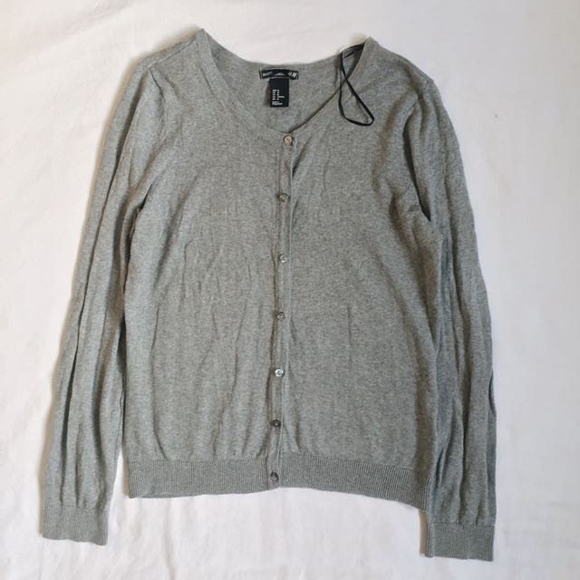 H&M Gray Cardigan