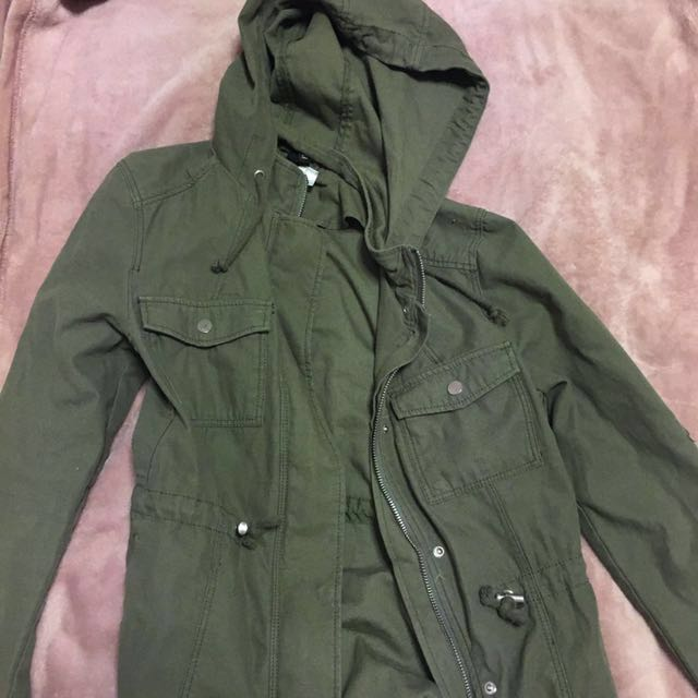 H&M Khaki Green Jacket