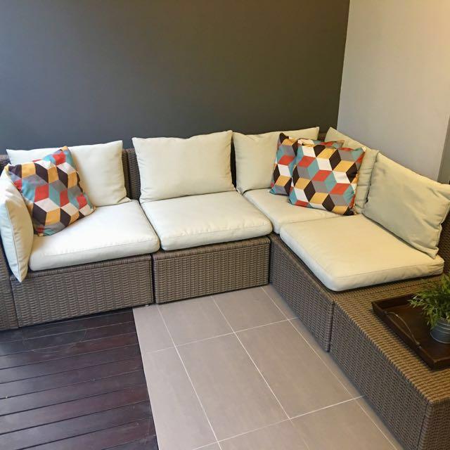 Ikea Outdoor Sofa Set With Coffee Table