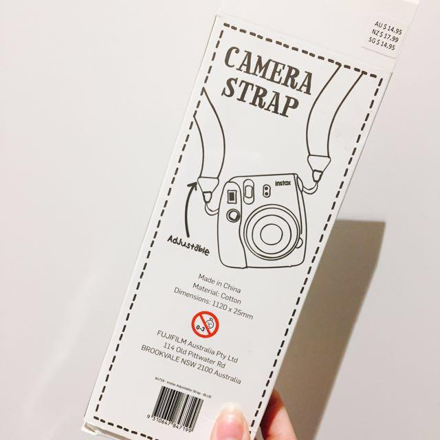 Instax Mini 8 Strap // Blue