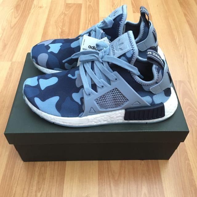 release date: fbbc1 d3d26 INSTOCK AUTHENTIC ADIDAS NMD XR1 Camo Black Friday Blue ...