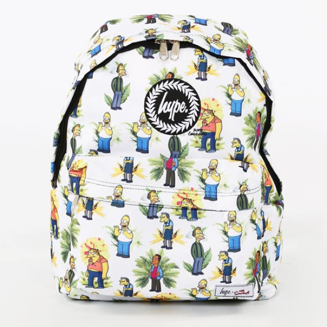 INSTOCK WTS  AUTHENTIC JUST HYPE X SIMPSONS COLLECTION BACKPACK ... 999042b9ae8b1