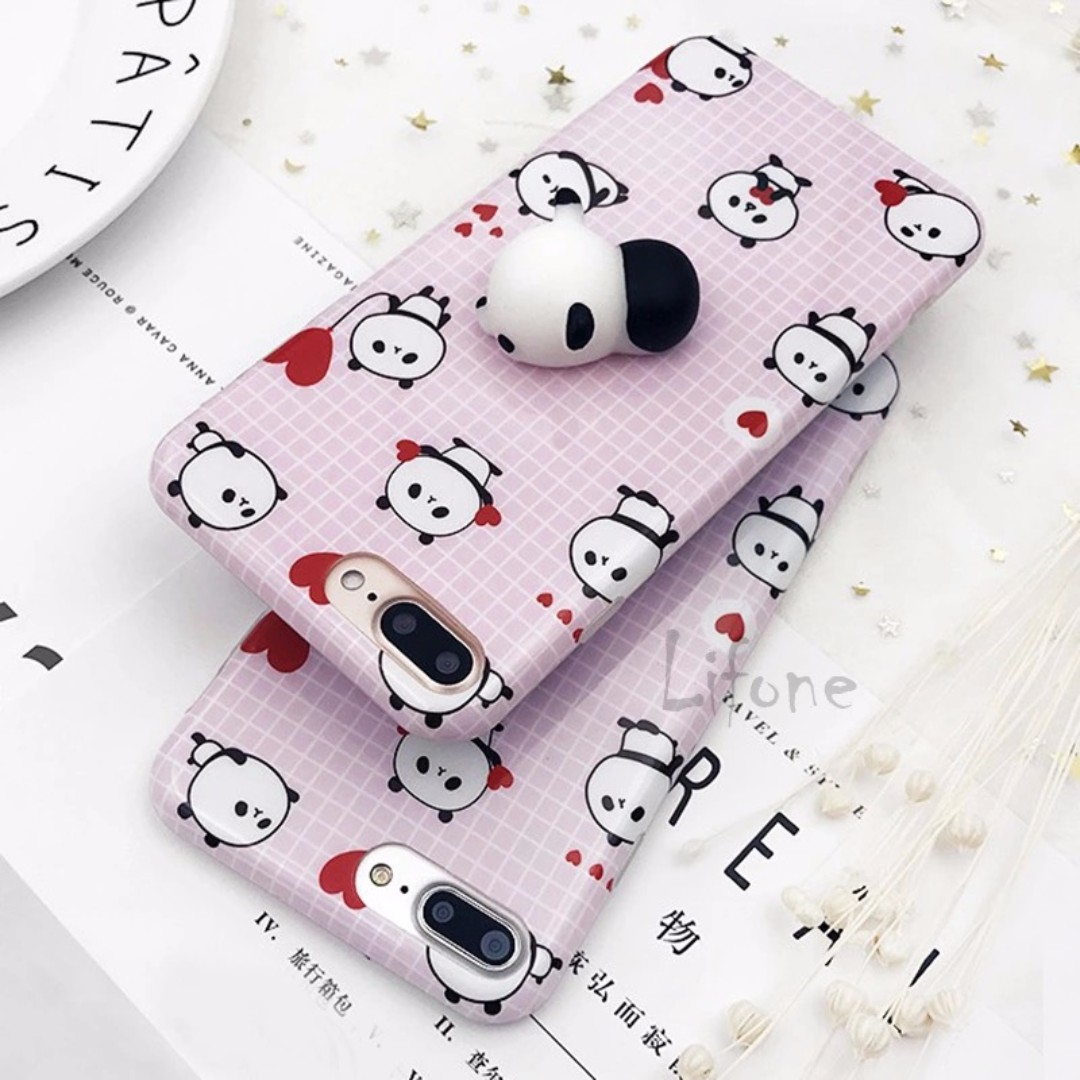 Iphon Squishy Case Love Panda