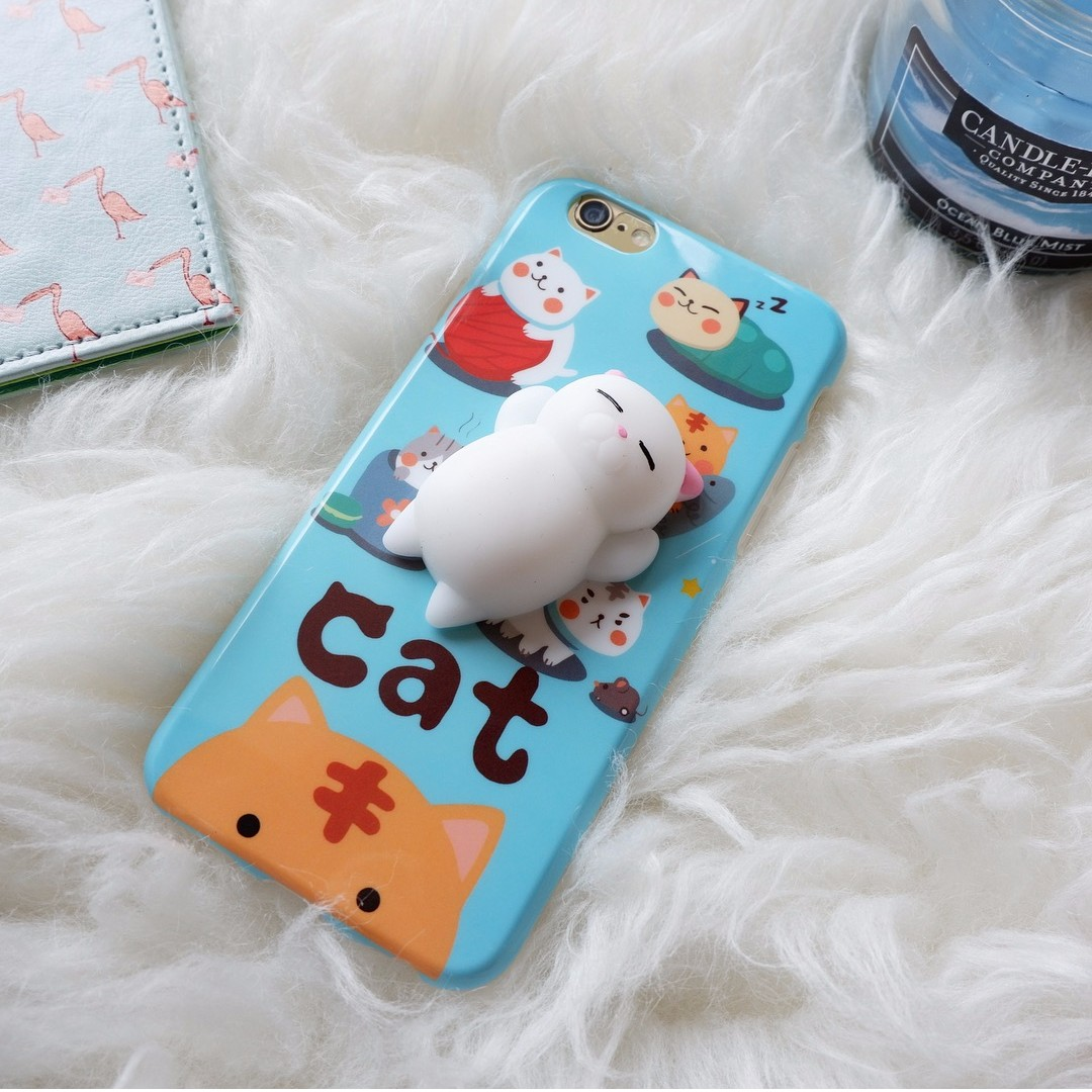 IPHONE Squishy Case Japanese Cat