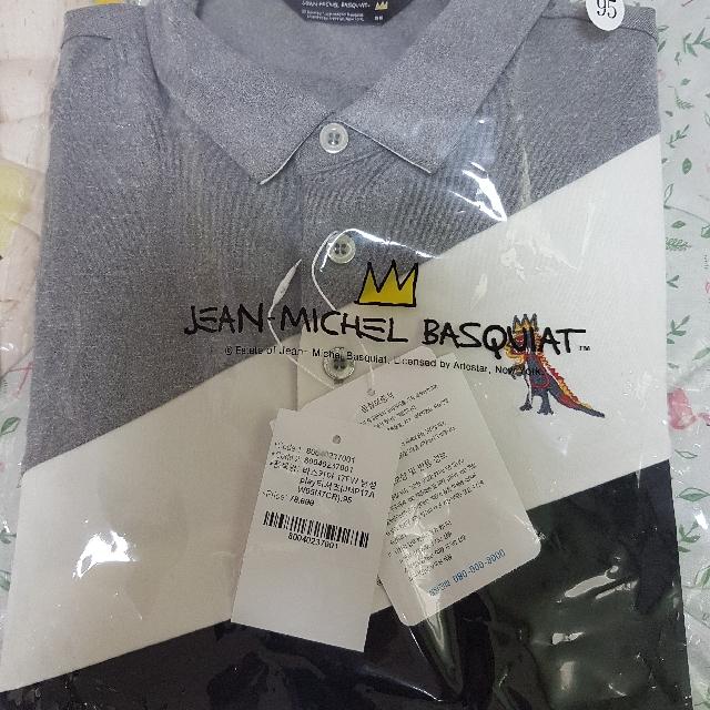 Jean-Michel Basquiat 바스키아 Men's Tee Size 95 남성play티셔츠