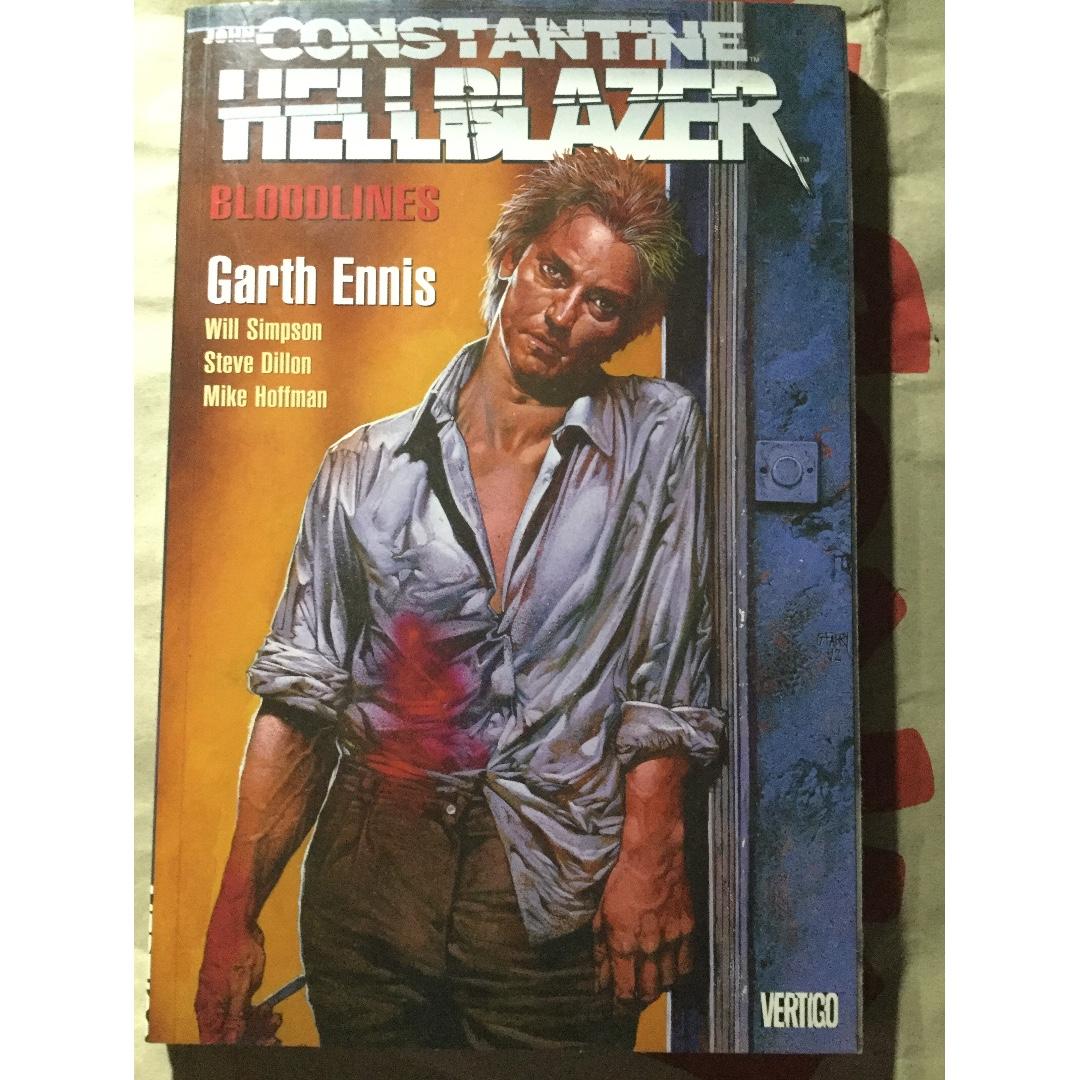 John Constantine Hellblazer: Bloodlines comics