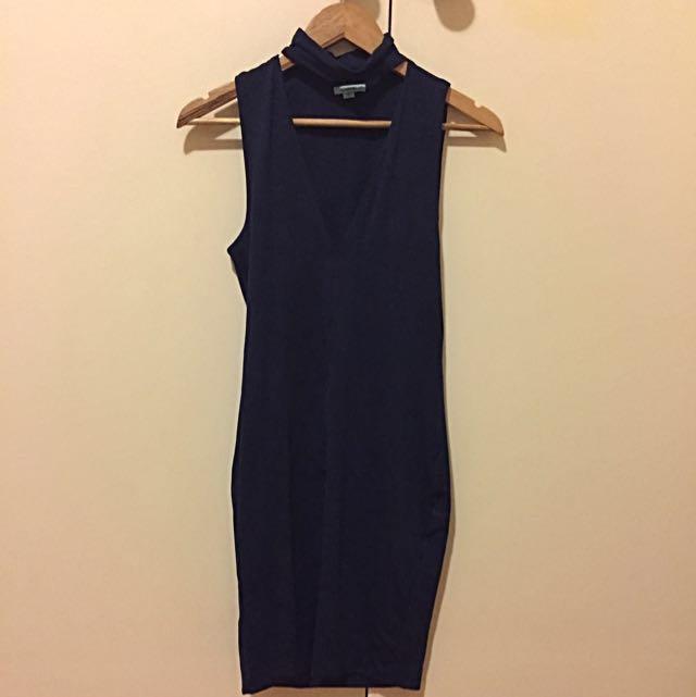 Kookaï Navy Blue Dress