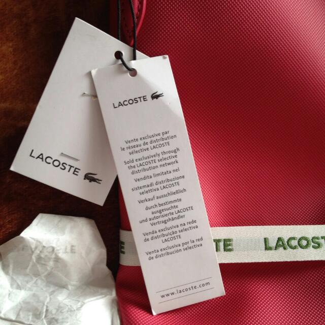 Lacoste Tote Bag