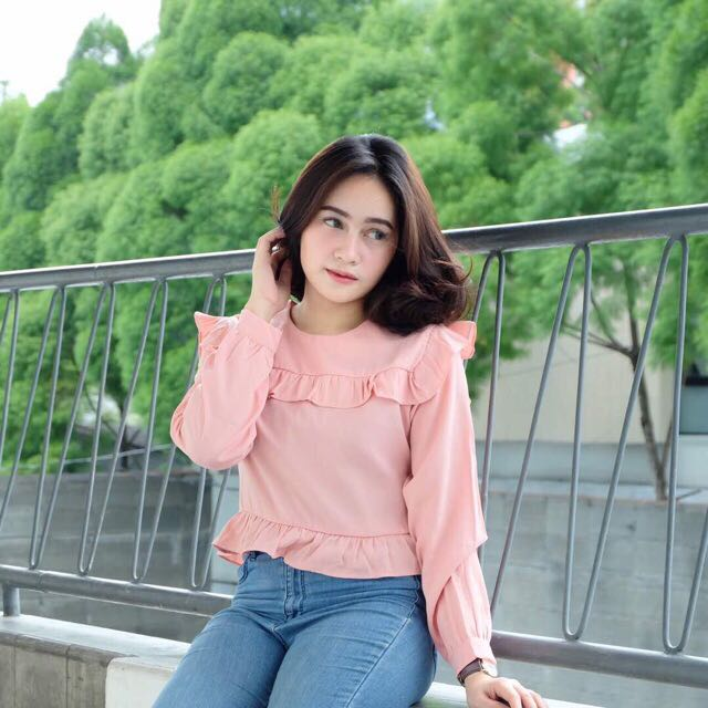 ladyfame blouse