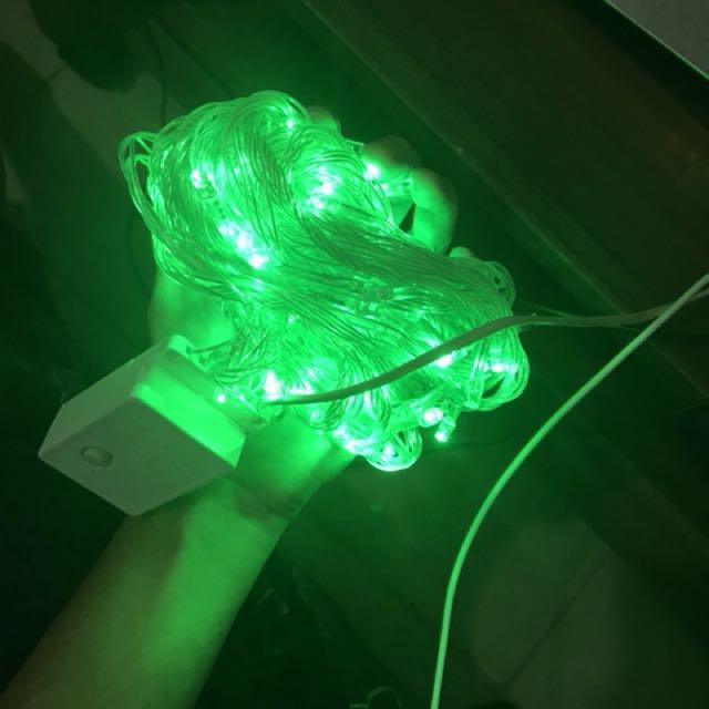 Lampu tumblr hijau