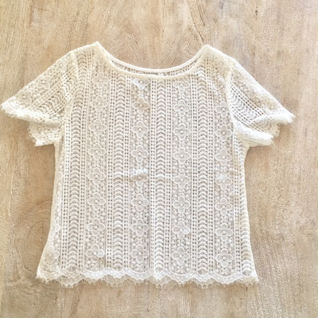 Lave top size 8