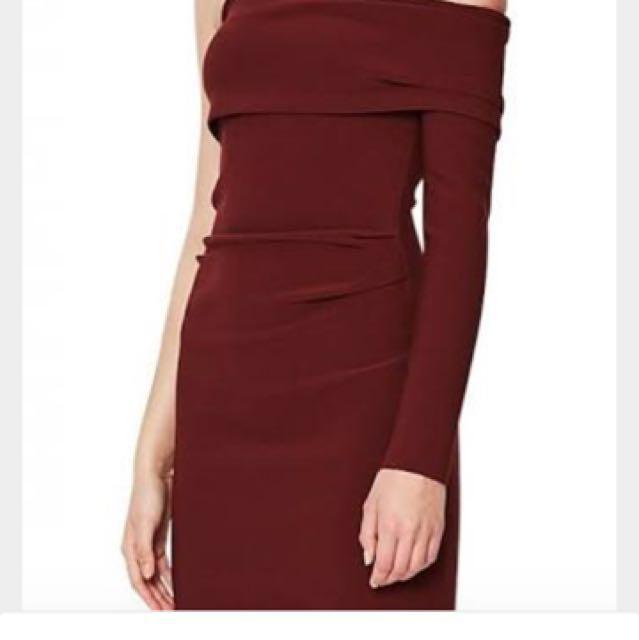 Love ruler Asym dress