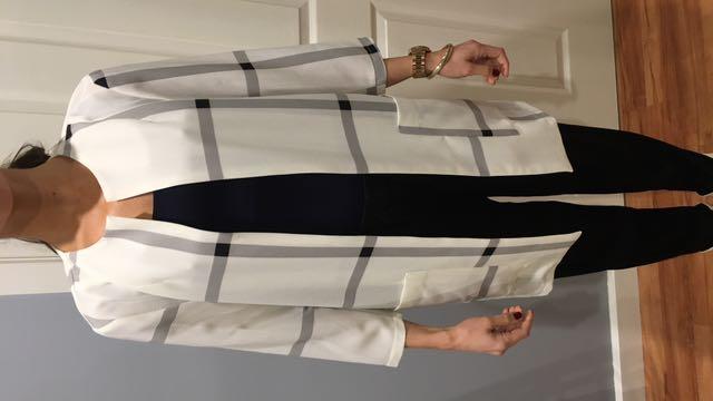 Luxe White light Coat