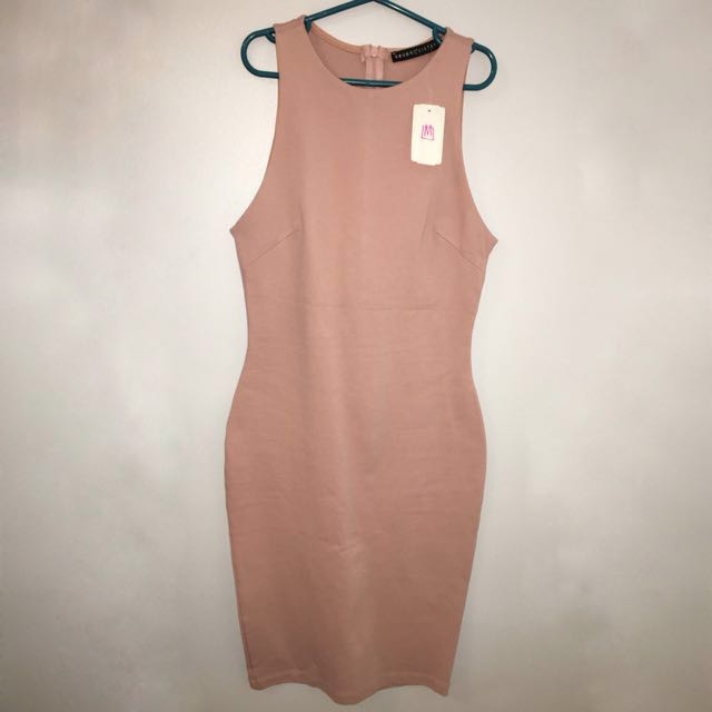 M Boutique Blush dress