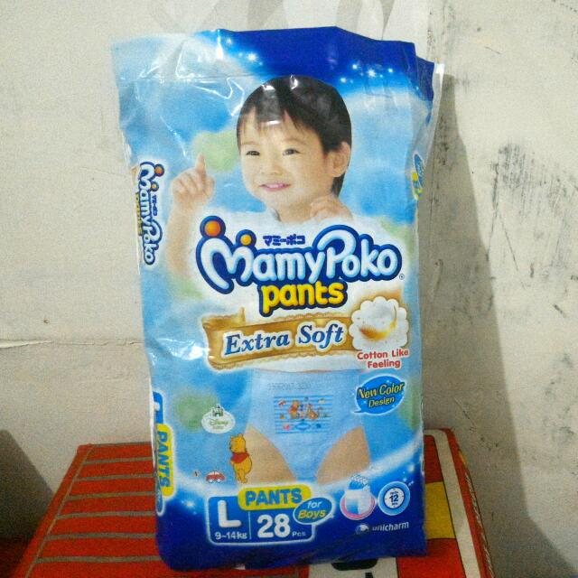 Mamypoko Pants Extra Soft, L, 28