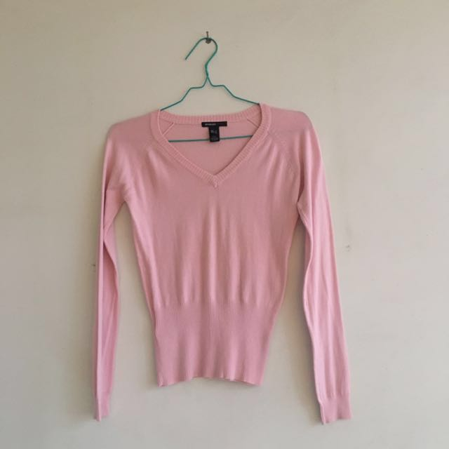 Mango Baby Pink Sweat Shirt