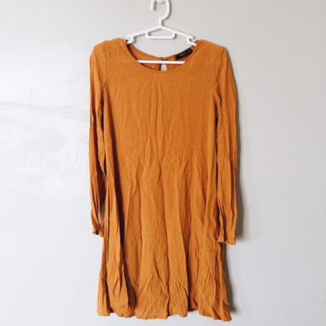 Mango Basics Flowy Dress