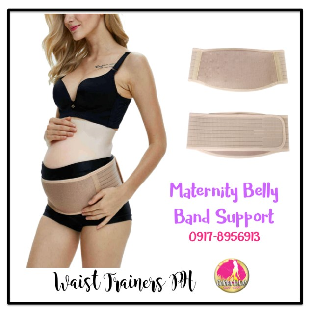 Maternity Belly Band Support   - Underwrap Back and Belly Support