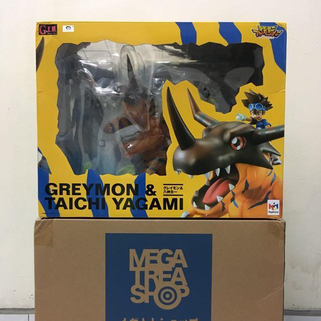 Megahouse G.E.M Greymon & Yagami Taichi