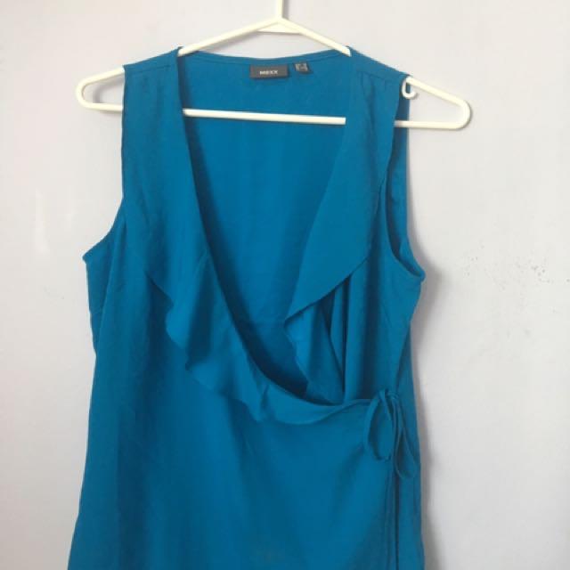 MEXX blue sleeveless Blouse