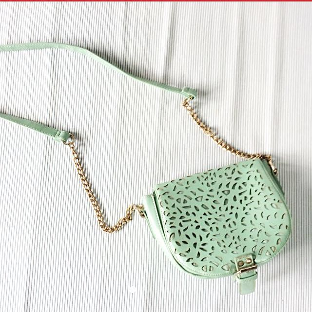 Mint Green Sling Bag