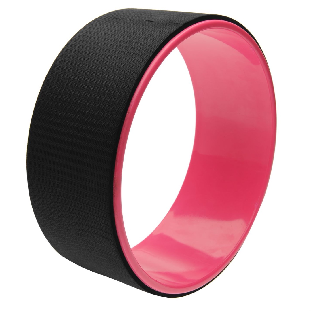 NEW! Yoga wheel Pink / Black TPE eco friendly material
