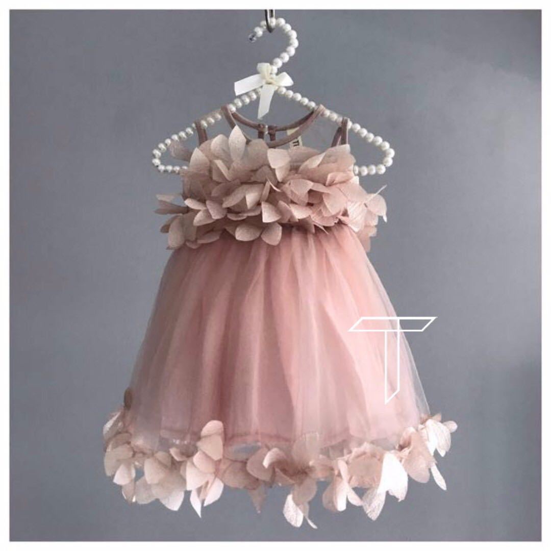 Niccoli Pink Party Dress Formal Birthday Fancy