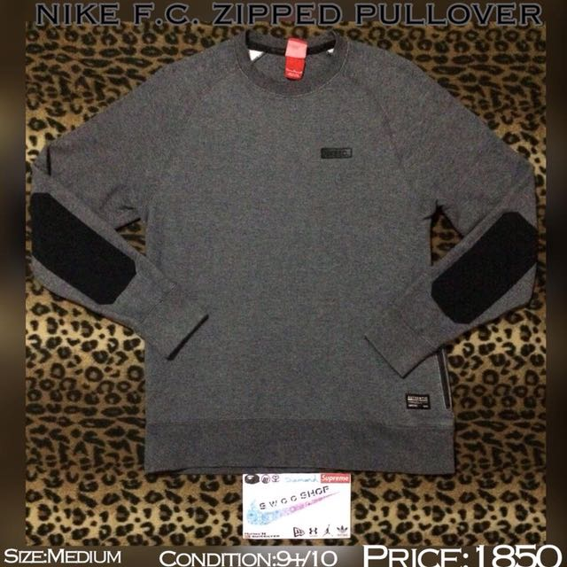 Nike FC Zipped Pullover