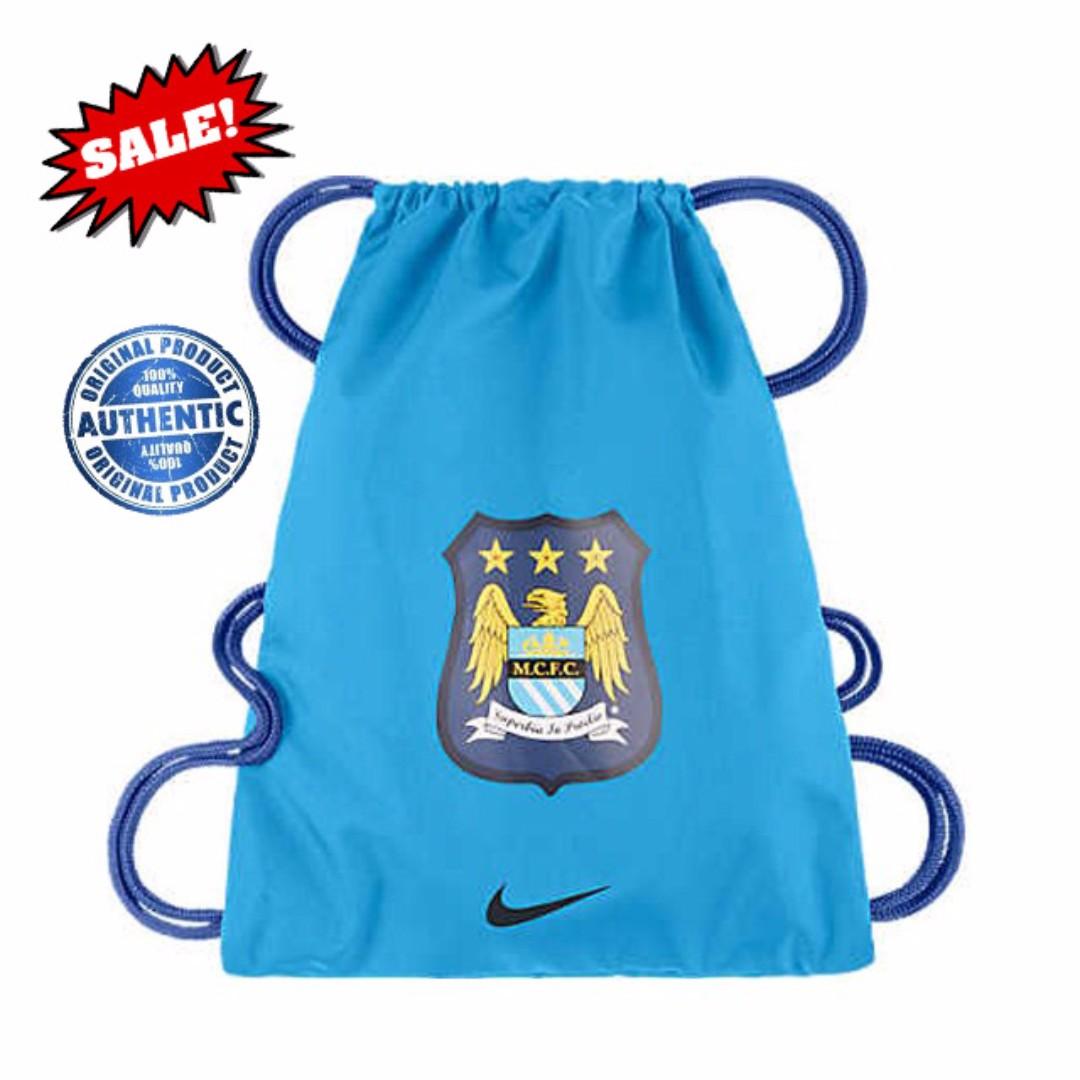 ebcf6506b5 Nike Football Allegiance Man City Gymsack BA4805-470, Men's Fashion ...