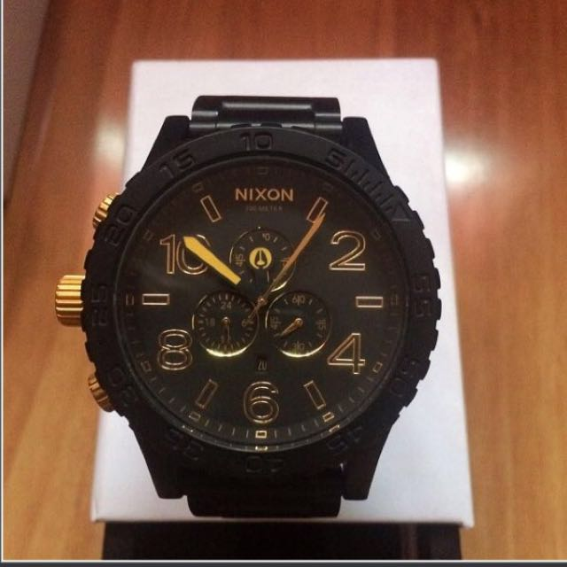 Nixon 51-30 Chrono Watch. Untouched