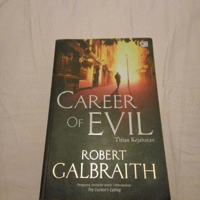Novel Career of Evil