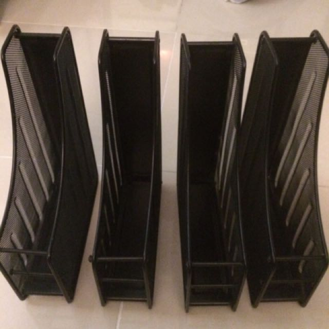 Organizer / Magazine rack 4 pcs