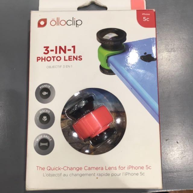 Original Ollo clip 3 in 1 photo lens