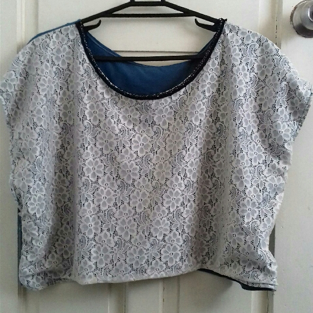 REPRICED!! Oversized Crop Top