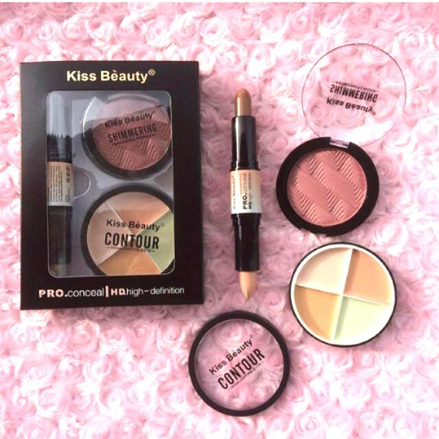 Paket Contour Kiss Beauty