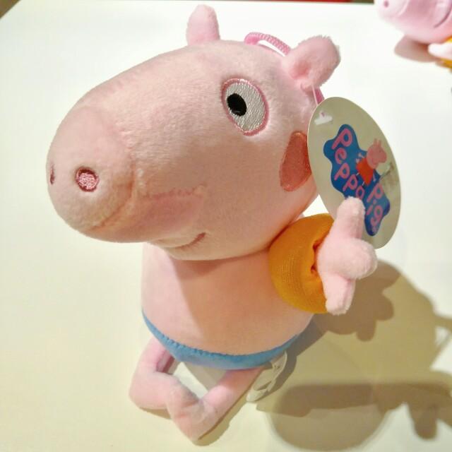 Papapig 佩佩豬 豬小弟 玩偶 娃娃