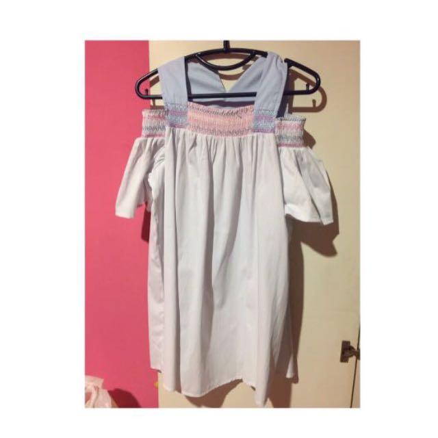Pastel sabrina dress