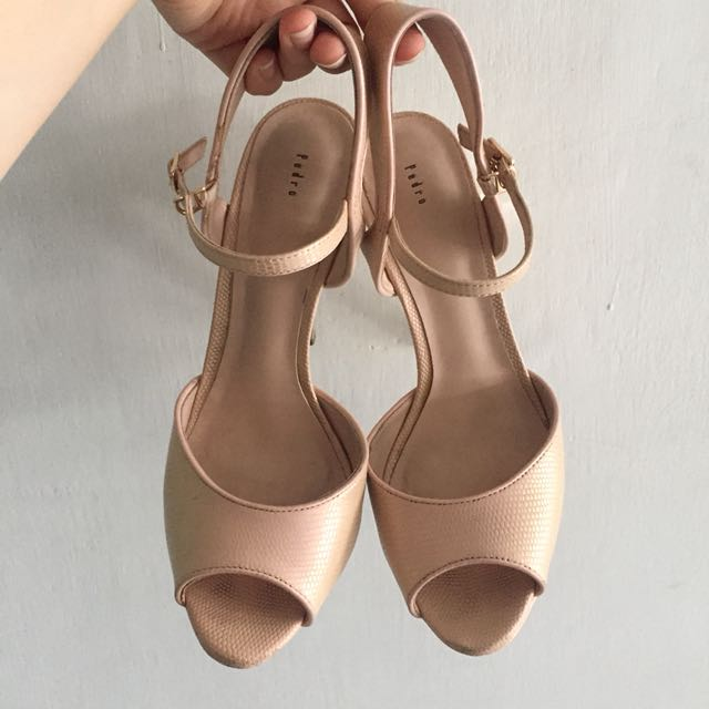 Pedro Pink High Heels