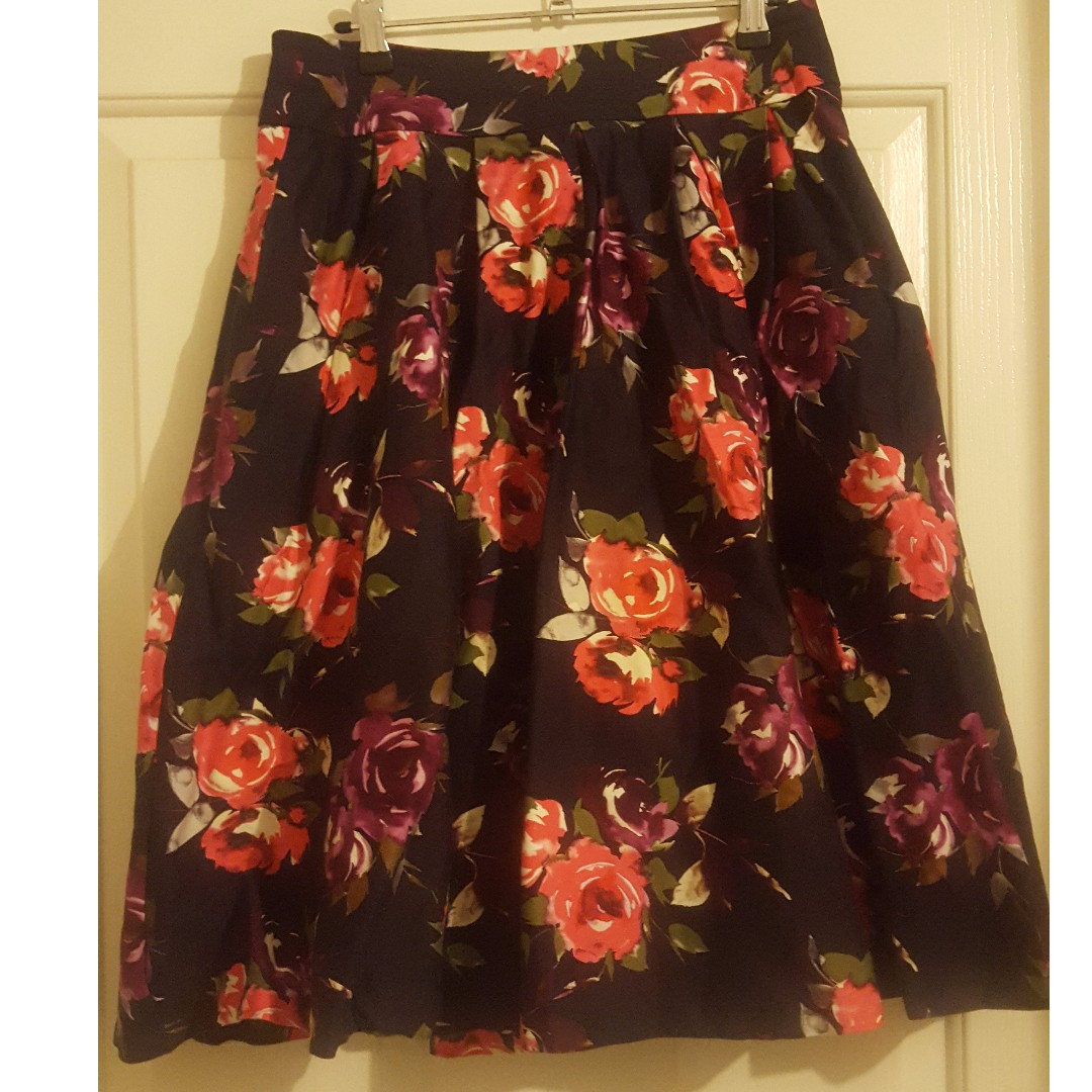 Pink and Purple Review skirt size 10