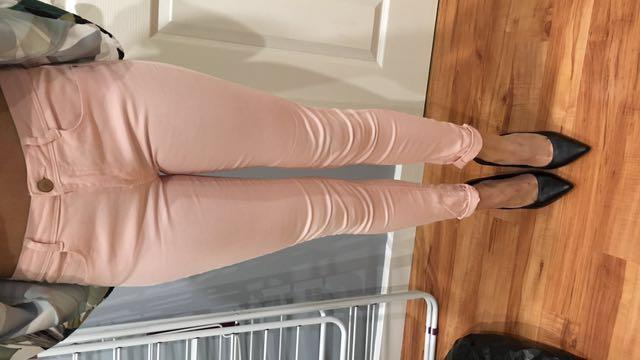 Pink Zara Jeans