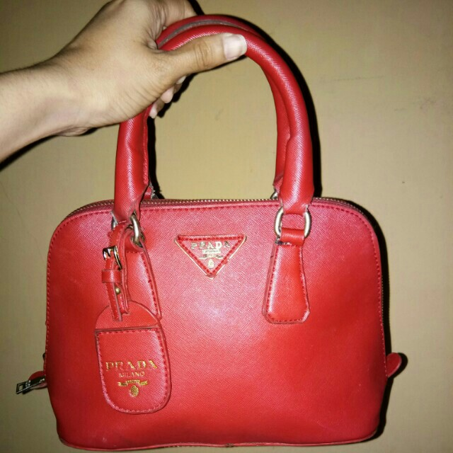 Prada Milano Red