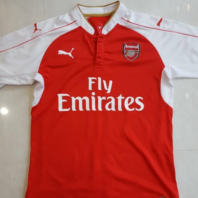 0bb633ec464 Pre-loved Arsenal 15/16 Home Jersey Adult M Size fan version replica ...