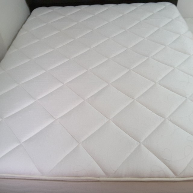 Queen Size Mattress + Bed Frame