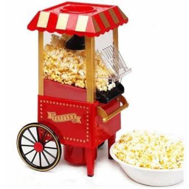 Retro Classical Popcorn Maker