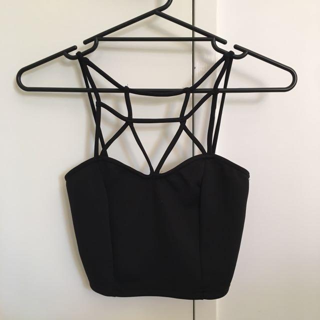Sabo Skirt Black Crop Top