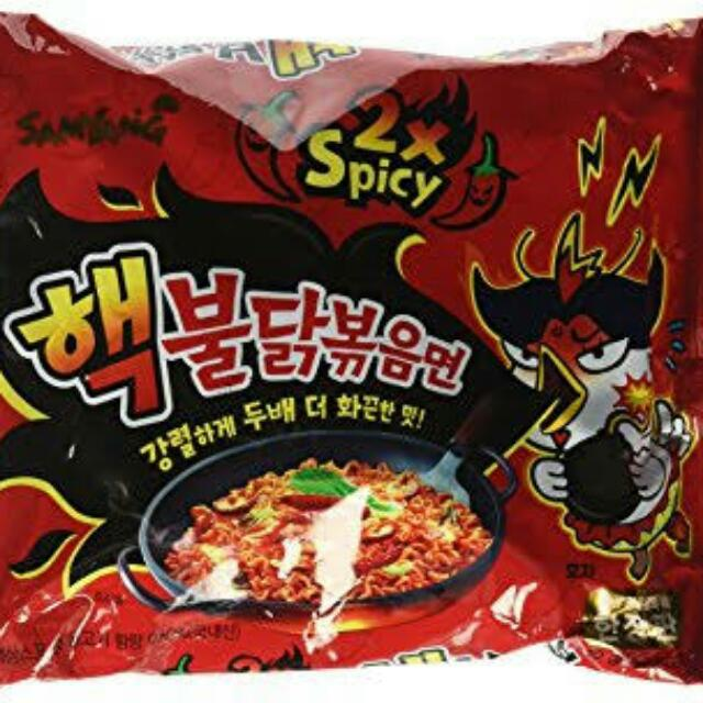 Samyang 2x Spicy (Red)