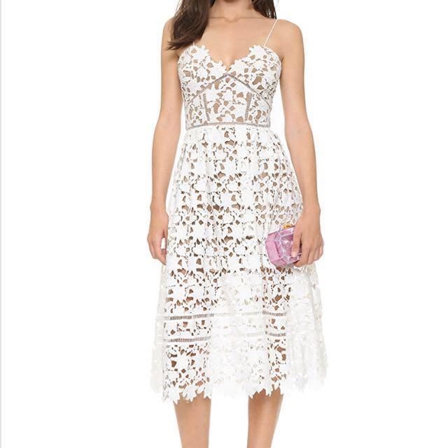 Self Portrait lace dress size UK6/US2