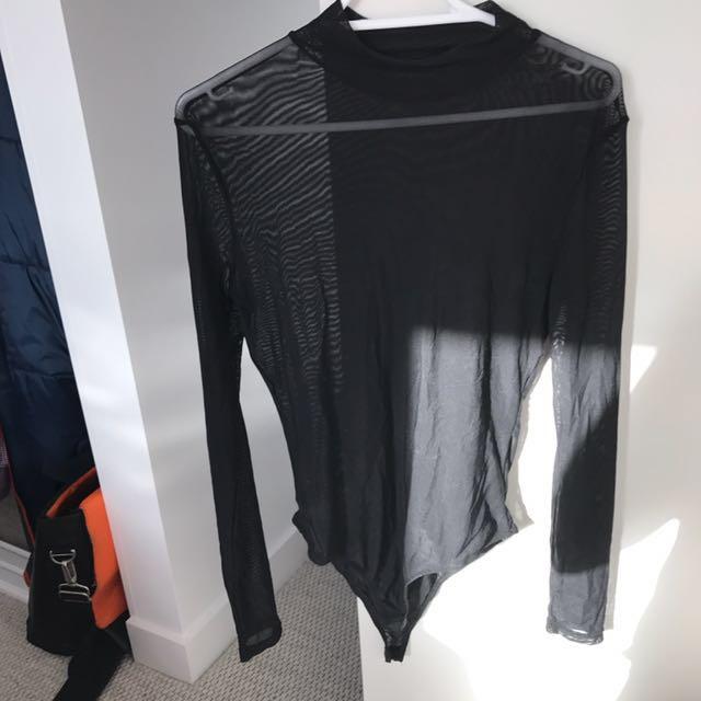 Sheer jumpsuit