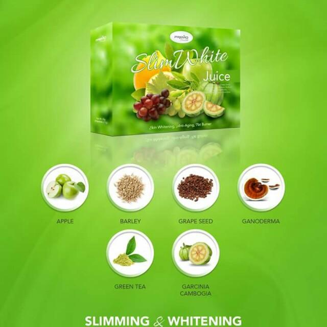 SLIMWHITE Slimming & Whitening Juice
